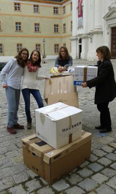 sachspenden sammeln für tombola