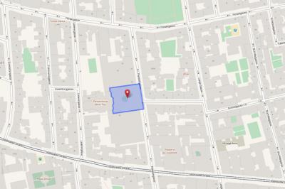 Strassenplan der Umgebung des bg8 - (c) openstreetmap.org