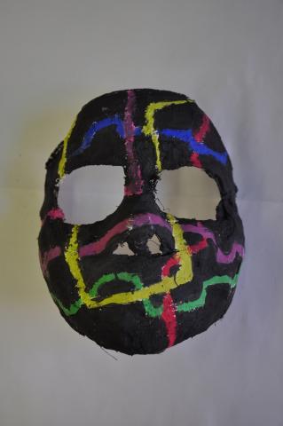 Gipsmasken 3ab