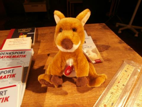 Känguru-Stofftier